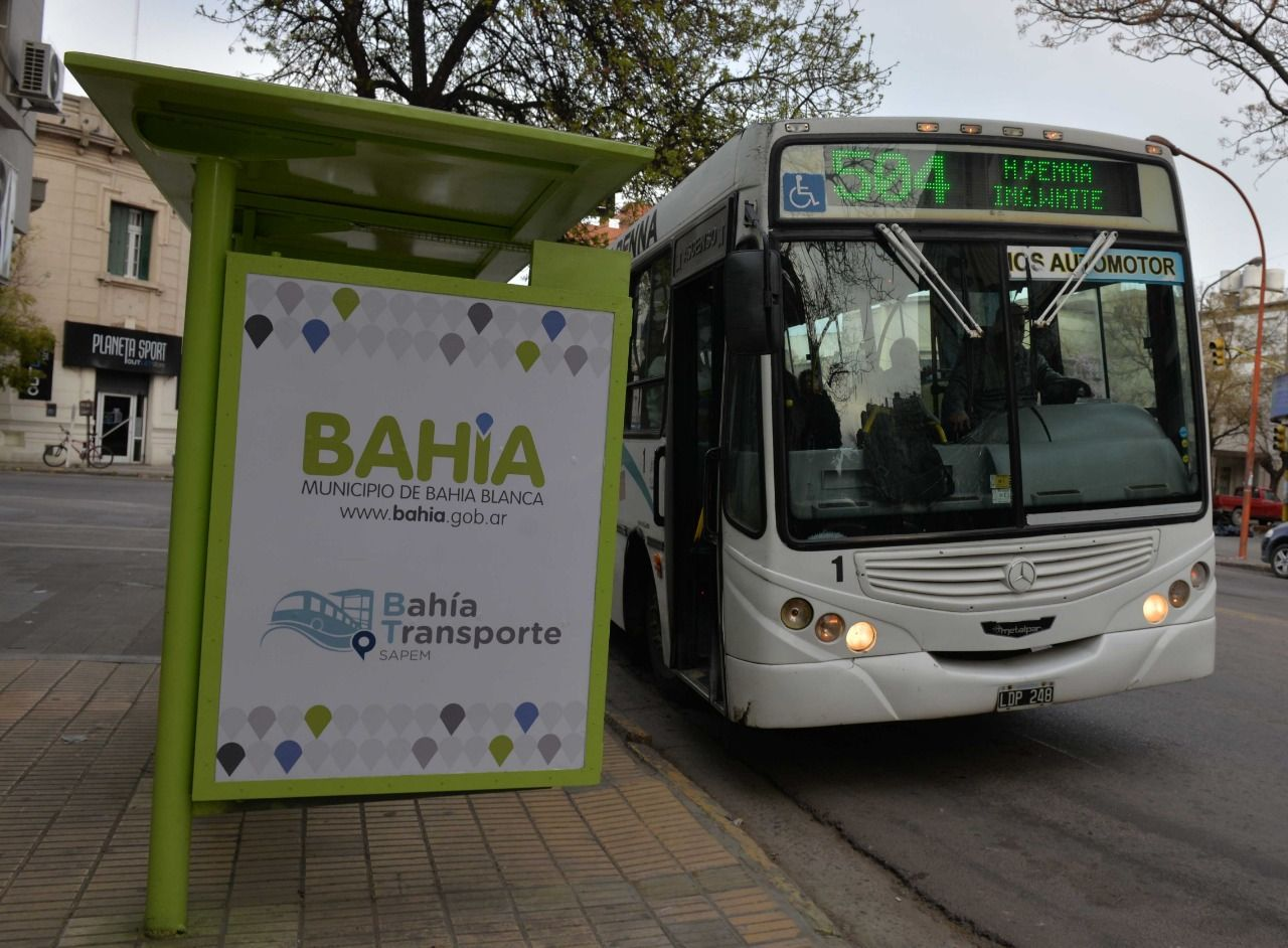 El boleto de colectivo en Bahía Blanca será el más caro de la Provincia.