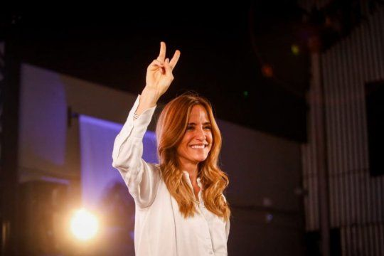La presidenta del Consejo Nacional de Coordinación de Políticas Sociales, Victoria Tolosa Paz, apuntó a la oposición. Créditos: NA.