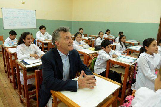 Mauricio Macri aseguró que los niños y adolescentes no son vectores principales de contagio.