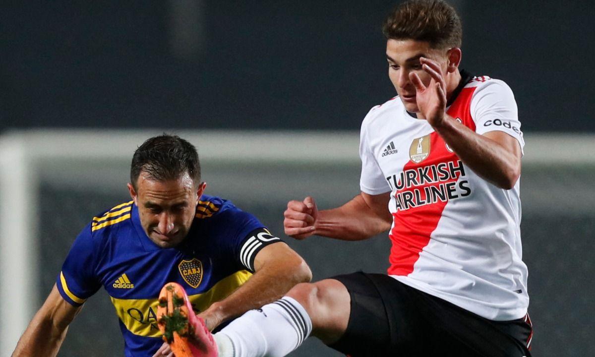 Izquierdoz y Álvarez serán protagonistas del River - Boca del fin de semana.