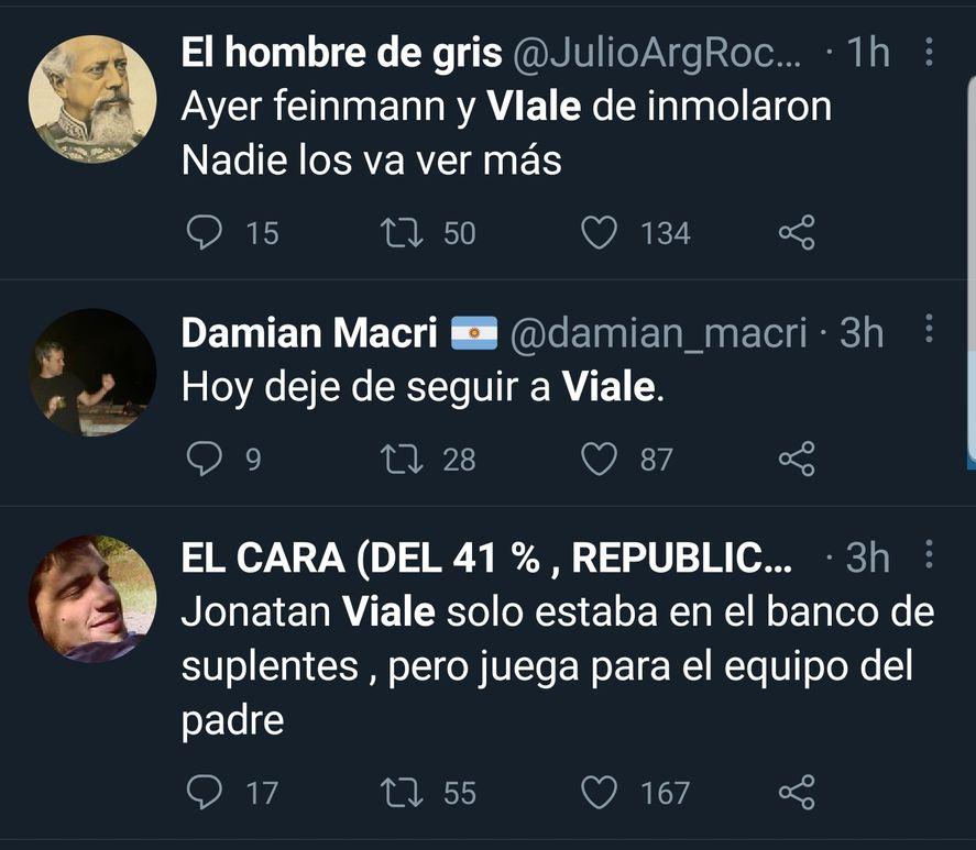 Las críticas a Viale, Feinmann y Bonelli por criticar a Macri fueron descarnadas en redes