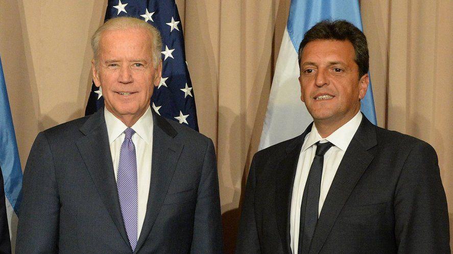 Sergio Massa es clave en las relaciones bilaterales con la nueva gestión de Joe Biden.