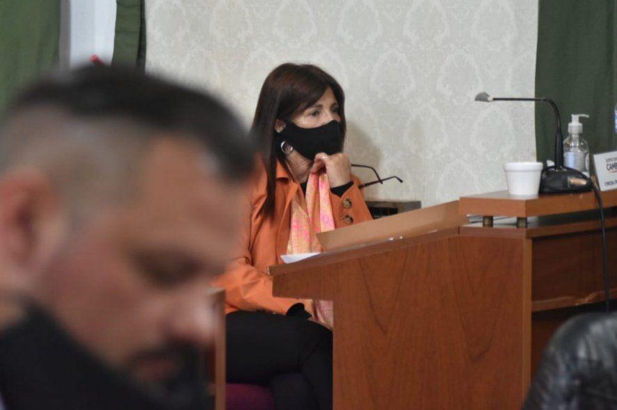 La concejala Fernanda Iveli fue sancionada por romper los protocolos (Foto: agenciadlc.com)