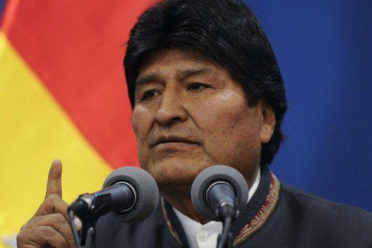 comunidad boliviana en la plata: evo morales nos devolvio la dignidad