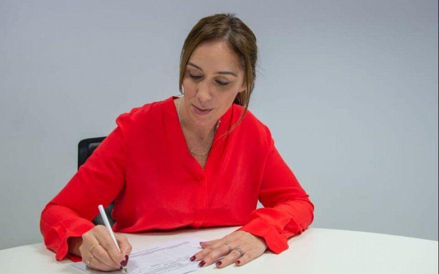 La Gobernadora Vidal firmó su postulación: repetirá fórmula con el radical Salvador