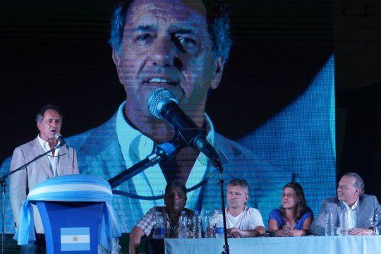 scioli y un contundente respaldo a la candidatura de berni a la gobernacion