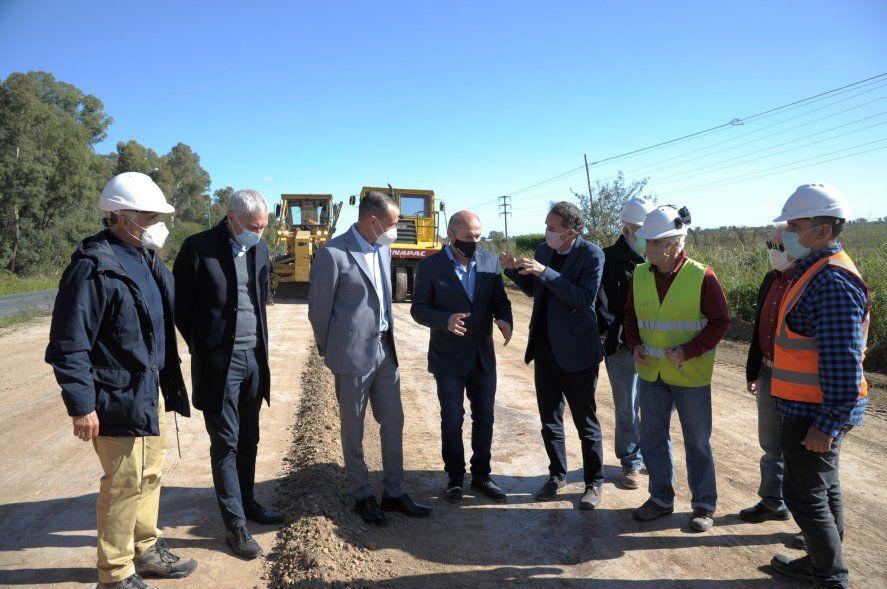 Katopodis encabezó el inicio de la obra de la autovía que une La Plata y Ensenada
