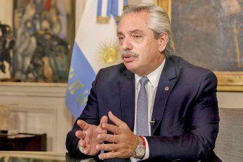 Alberto Fernández encabeza una actividad oficial