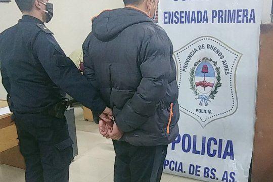 Por el incendio de la comisaría de Ensenada fue detenido en Pilar