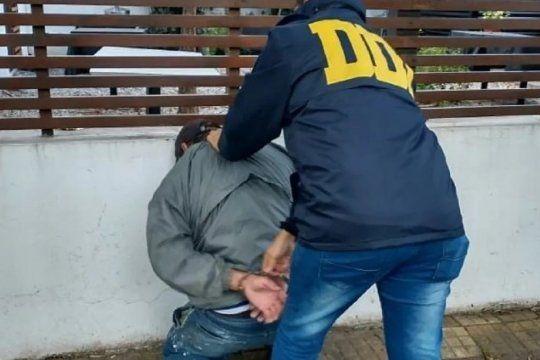 El detenido tiene 27 años y es albañil