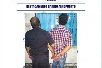 El hombre fue detenido en la estación de servicio de 7 y 99 en La Plata