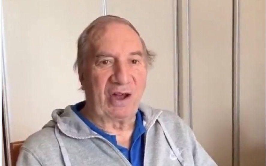Volvió el Narigón: Carlos Bilardo se mostró públicamente y dejó su mensaje para el 2020