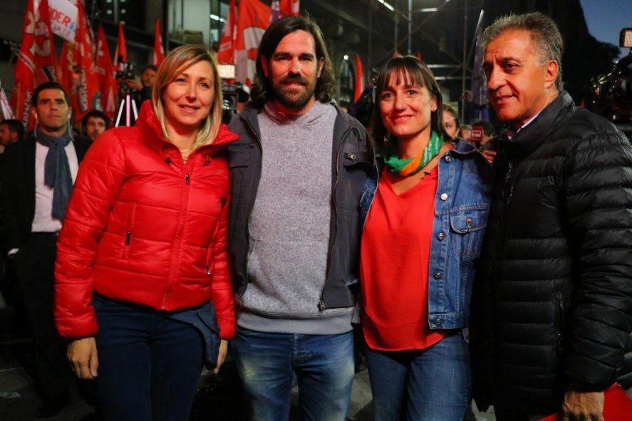 Nicolás Del Caño y Romina Del Plaa, la fórmula del FIT en las elecciones PASO 2021 de la provincia de Buenos Aires.