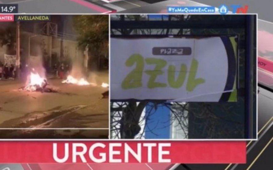 Mayra Mendoza desmintió una protesta que difundió TN: las imágenes eran de Chile