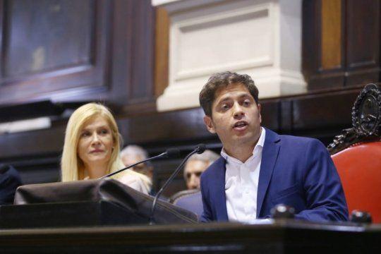 asamblea legislativa: kicillof le puso numeros al ajuste de maria eugenia vidal