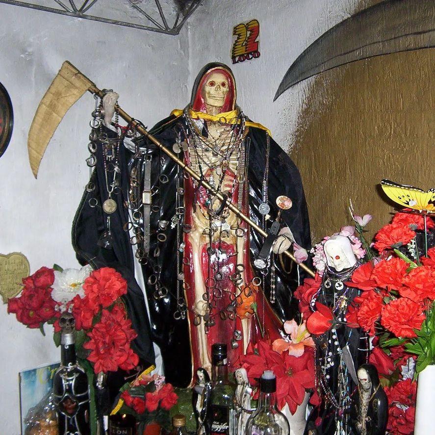 Mató al padre como ofrenda a San La Muerte