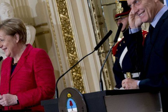 negociaciones con el fmi: macri hablo con angela merkel y recibio el apoyo de alemania
