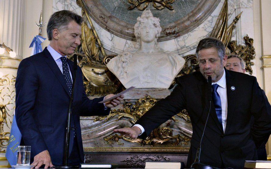 El ex presidente Macri junto al ex secretario de Salud