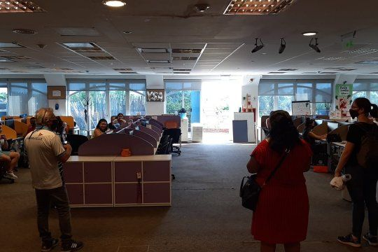 La Bancaria anunció un paro en las sucursales del banco Supervielle (Foto: @BerrozpeBncario)