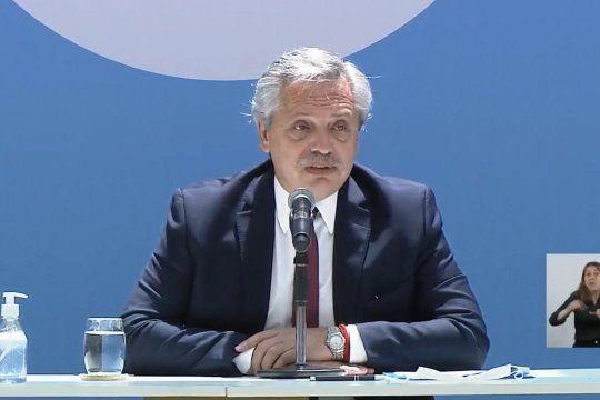 Alberto Fernándezanunció en Casa Rosada la construcción de 300 Centros de Desarrollo Infantil