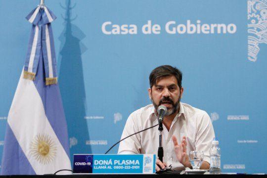 Carlos Bianco habló tras su cambio en el gobierno de Kicillof