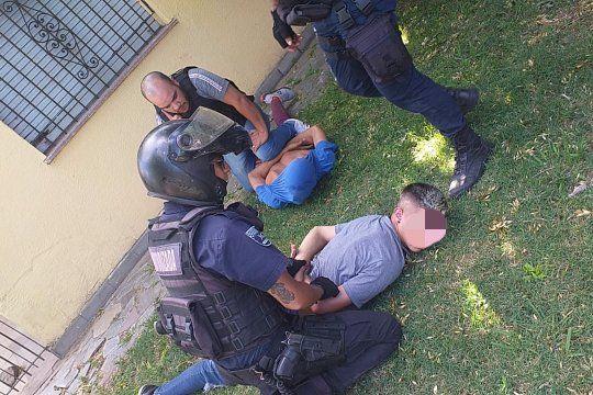 Los dos detenidos tienen 18 y 22 años y fueron detenidos en el barrio San Carlos