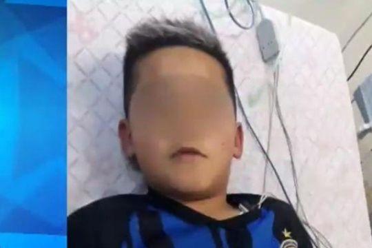 El nene esperaba ser atendido en la vereda de un kiosco y fue baleado
