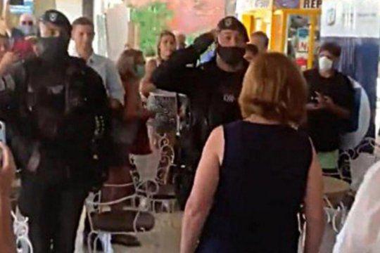 Desde Gobernación también creen que los policías fueron utilizados por Bullrich