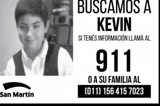 san martin: un chico de 13 anos desaparecio el lunes cuando salio rumbo al colegio