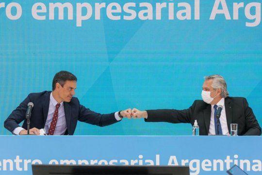 el presidente de espana ratifico su respaldo a argentina en sus negociaciones de deuda