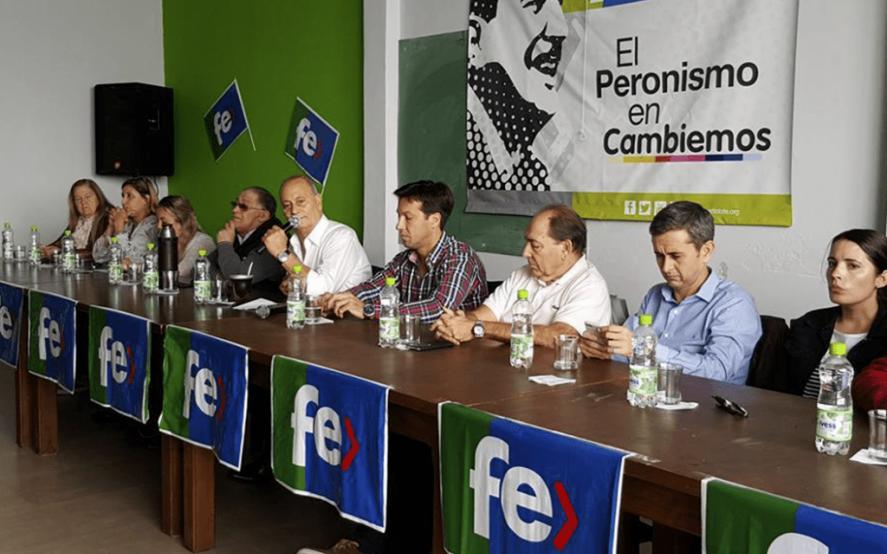 El Partido Fe del Momo Venegas oficializó su apoyo al gobierno de Alberto Fernández