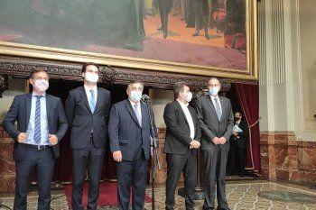 Los líderes de la oposición cuestionaron el discurso de Alberto Fernández