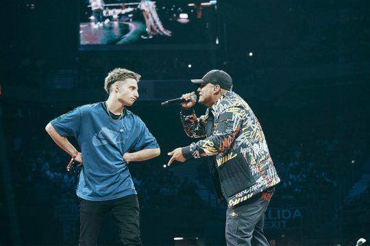 wos vs aczino paso a ser la batalla de rap mas vista