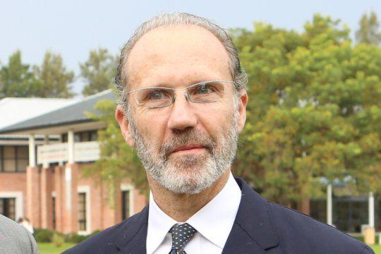 El presidente de la Corte Suprema de Justicia, Carlos Rosenkrantz.