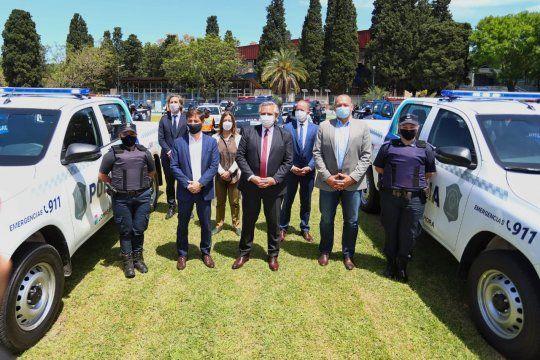 El presidente Alberto Fernández invirtió $37.000 millones en el Programa de Fortalecimiento de la Seguridad para la provincia de Buenos Aires.