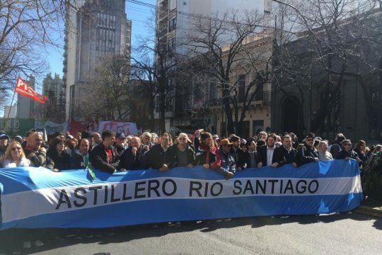 Trabajadores de Astillero Río Santiago