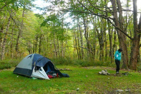 prepara la mochila: permiten acampar y andar en bici en las reservas naturales de la provincia