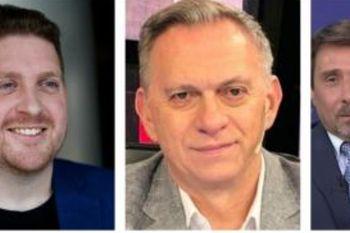 Viale, Bonelli y Feinmann fueron denostados en redes por sus críticas a las declaraciones de Mauricio Macri sobre la gripe que es para él la pandemia