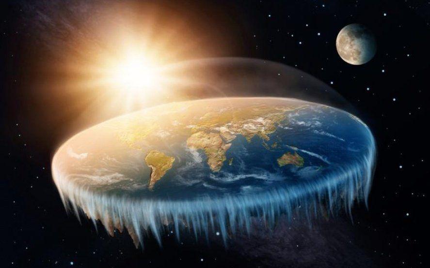"""Los terraplanistas le contestan a la astronomía ortodoxa: """"El sistema solar lo creó la Iglesia"""""""