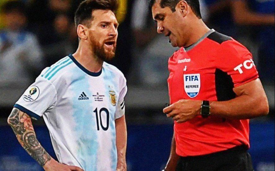 Messi caliente: Se cansaron de cobrar boludeces y esta vez no fueron nunca al VAR