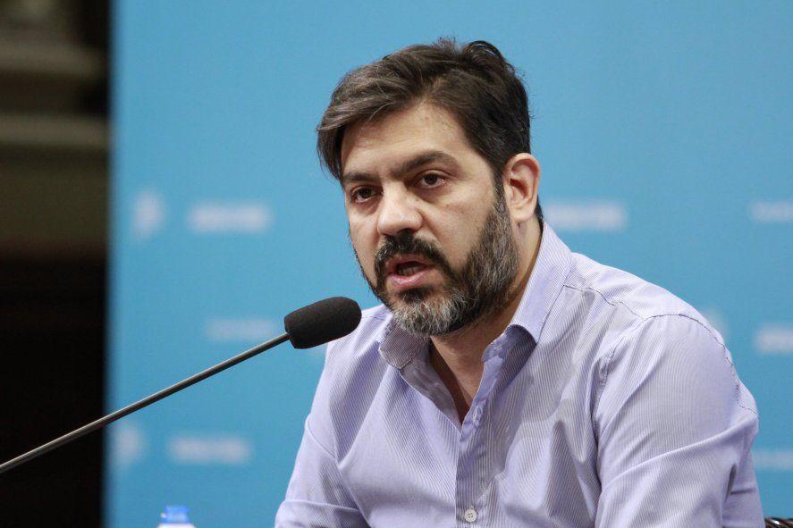 El jefe de Gabinete Carlos Bianco y el presupuesto 2021.