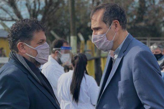 Luis Arias y Guillermo Escudero, cara a cara en las elecciones PASO del Frente de Todos en La Plata.