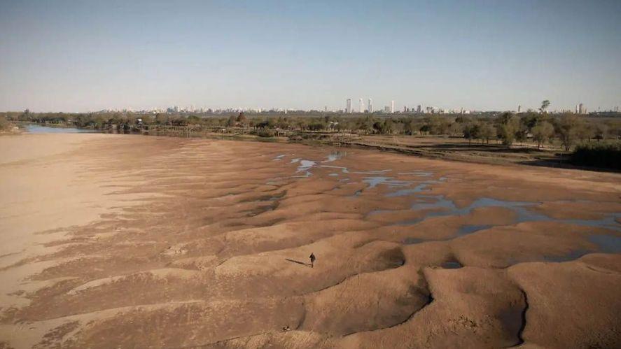 La Provincia en emergencia hídrica por la bajante histórica del Río Paraná