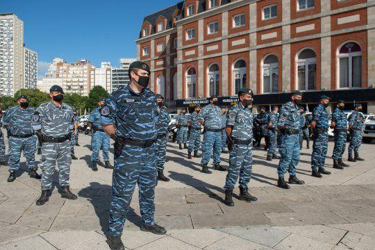 Los efectivos de la Policía Bonaerense que participan del Operativo Sol reciben apenas $1.500 por día.