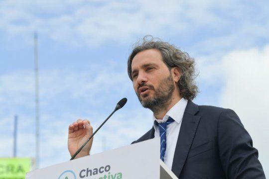 Santiego Cafiero se hizo un picnic con Mauricio Macri