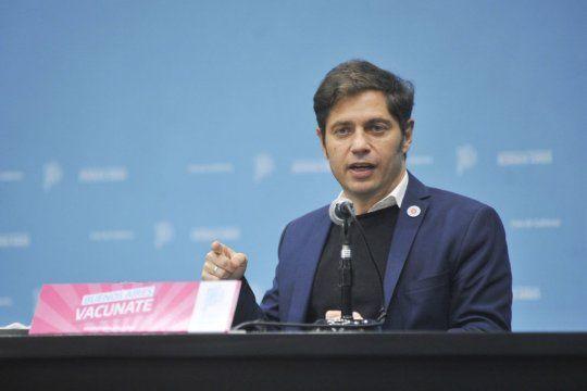 El gobernador Axel Kicillof no le perdonó a María Eugenia Vidal su desembarco en Capital Federal.