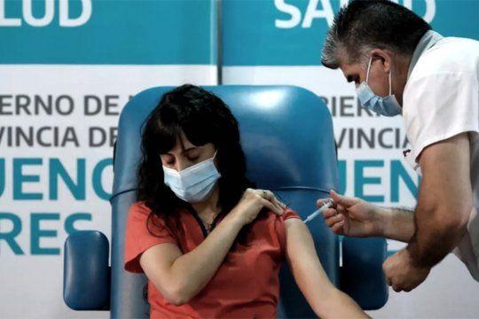 Argentina ocupa el puesto 7 en el ranking mundial de mayor cantidad de vacunados por millón de habitantes