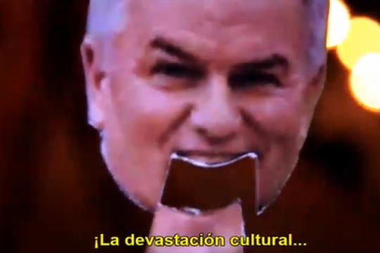 ?la devastacion cultural de bahia blanca?: el video viral que denuncio la critica situacion de los artistas