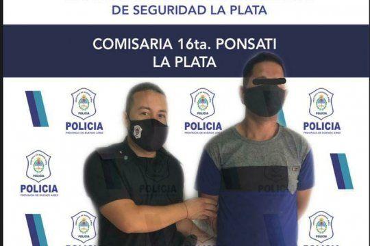 Con libertad condicional amenazó con prender fuego a la pareja y sus hijos en La Plata