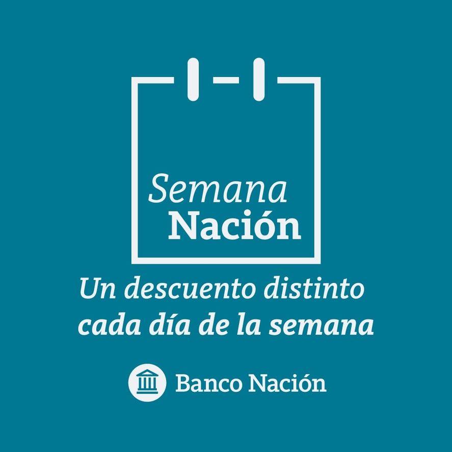 Banco Nación ofrece una promoción distinta por cada día de la semana